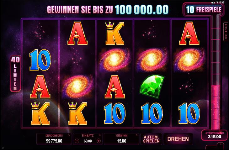 Stardust Spielautomat