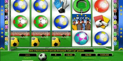 Der Spielautomat Euro Reels im 888 Casino