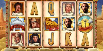 Monty Python's Life of Brian mit Jackpot