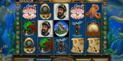Der Spielautomat Captain Nemo mit Jackpot