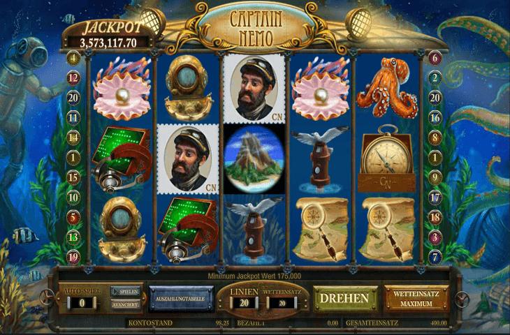 Leander_Games_Captain_Nemo_Spielautomat