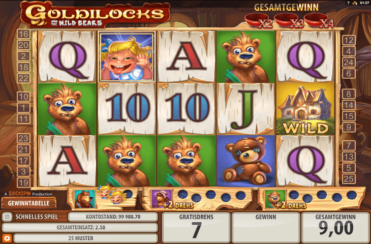 Microgaming_Goldilocks_Spielautomat