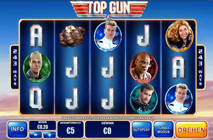 Playtech_Top_Gun_Spielautomat