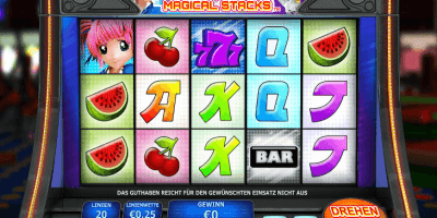 Der Magical Stacks-Slot im EuroGrand Casino