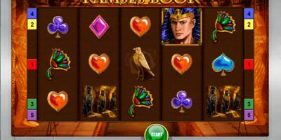 Der Ramses Book Spielautomat im Sunmaker Casino