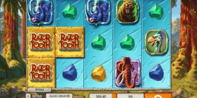 Der Spielautomat Razortooth im LeoVegas Casino