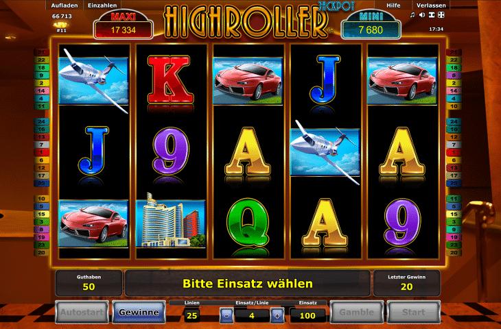 Spielautomat_Highroller_Jackpot_Novoline