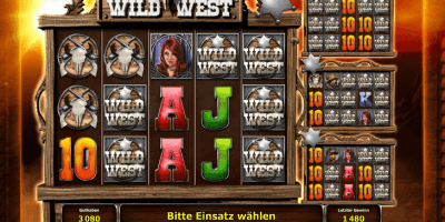 Der Wild West-Slot im Stargames Casino