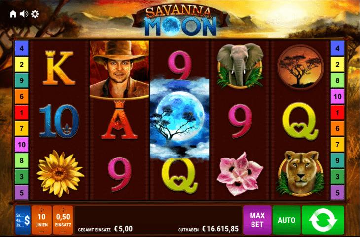 Spielautomat_Savanna_Moon_Gamomat