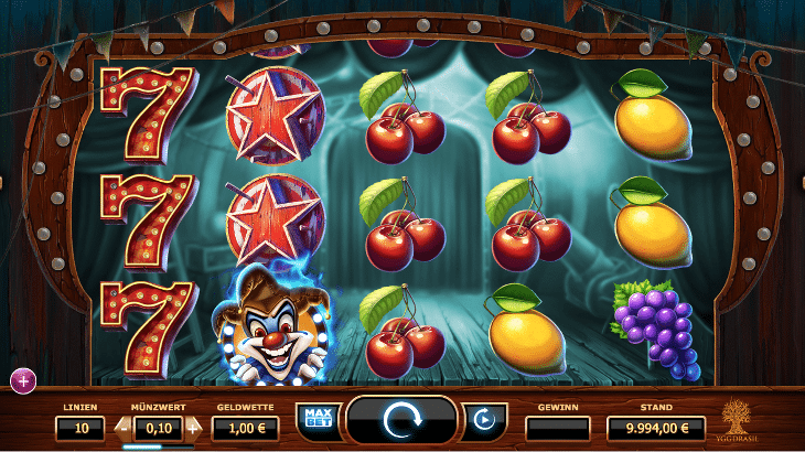 yggdrasil_wicked_circus_spielautomat