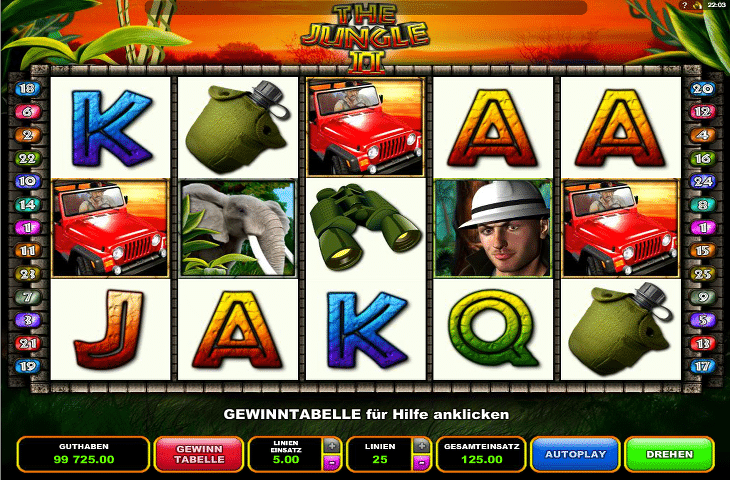 The_Jungle_II_Spielautomat_Microgaming