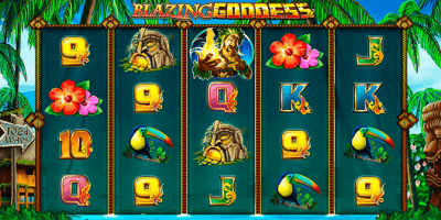 Blazing Goddess von Lightning Box Games