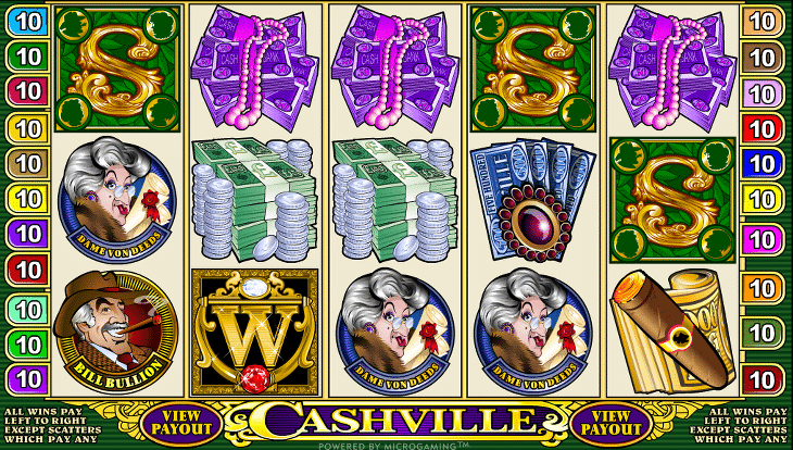 Cashville_Microgaming_Spielautomat
