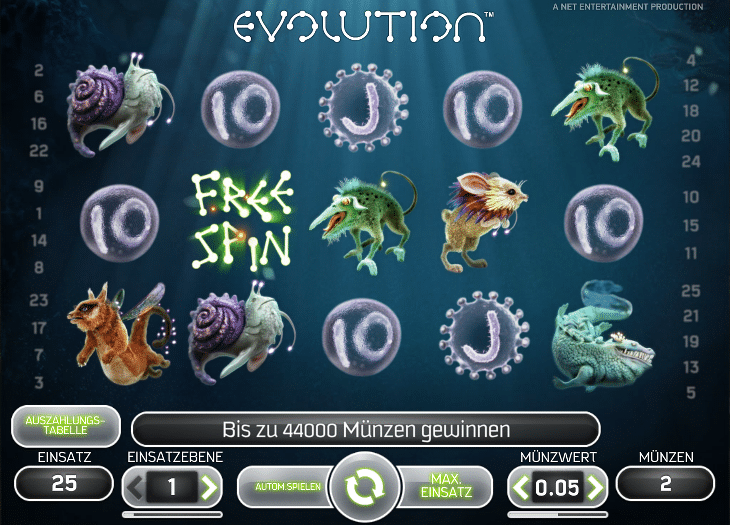 Evolution_Spielautomat_Net_Entertainment