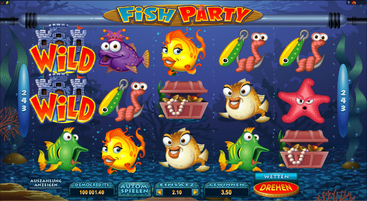 Fish_Party_Microgaming_SPielautomat