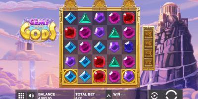 Der Gems of the Gods Spielautomat im LeoVegas Casino