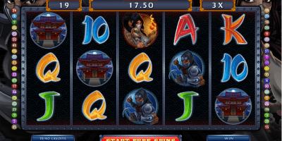 Der Ninja Magic Spielautomat im Mr Green Casino