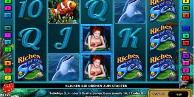 Der Riches of the Sea Spielautomat im Mr Green Casino