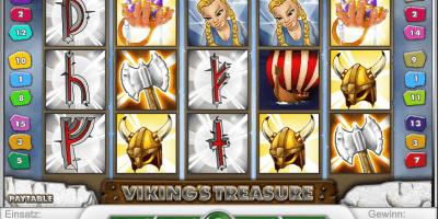 Der Spielautomat Viking's Treasure im Mr Green Casino