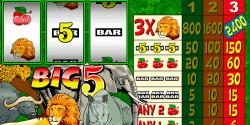 Big 5 Spielautomat