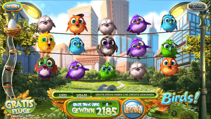 Birds!_BetSoft_Gaming_Spielautomat