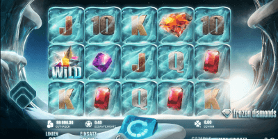 Der Frozen Diamonds-Slot im Betway Casino