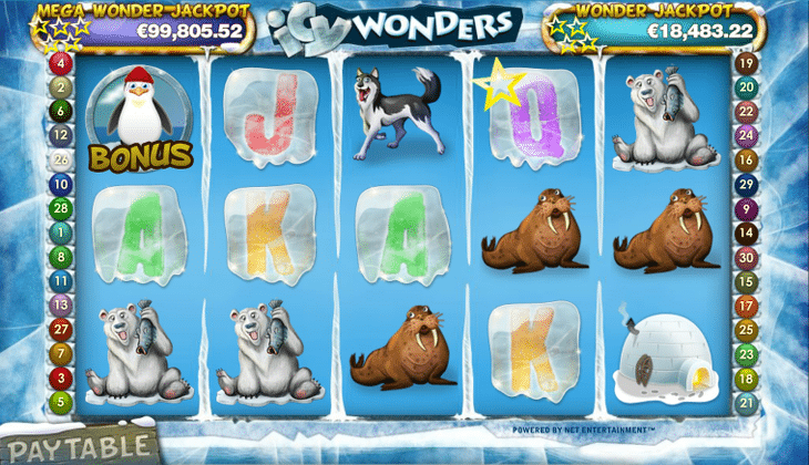 Icy_Wonders_Net_Entertainment_Spielautomat