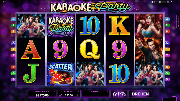 Karaoke_Party_Microgaming_Spielautomat