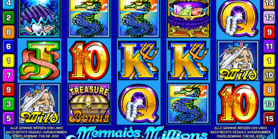 Der Spielautomat Mermaid's Millions im Mr Green Casino