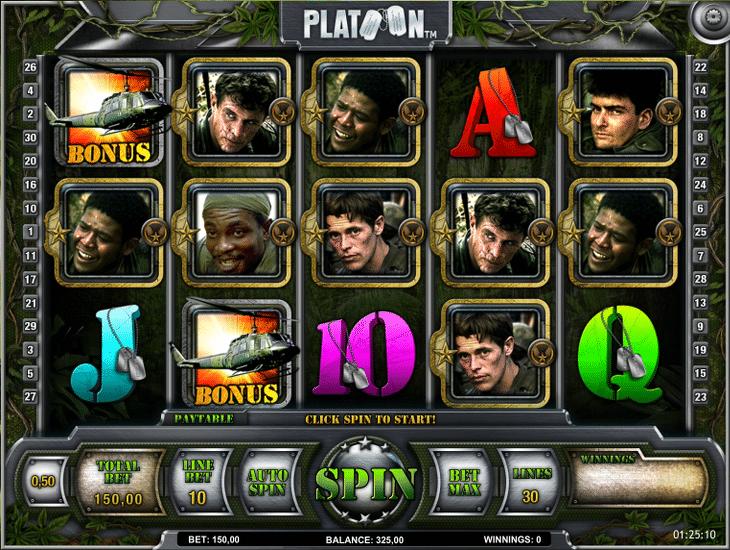 Platoon_iSoftBet_Spielautomat