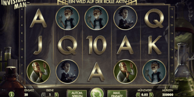 Der Spielautomat The Invisible Man im InterCasino