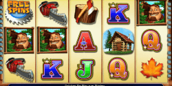 Der Spielautomat Timber Jack im Mr Green Casino