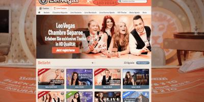 Authentic Roulette bei LeoVegas spielen