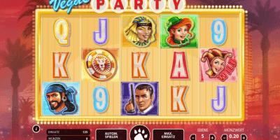 Vegas Party von Net Entertainment