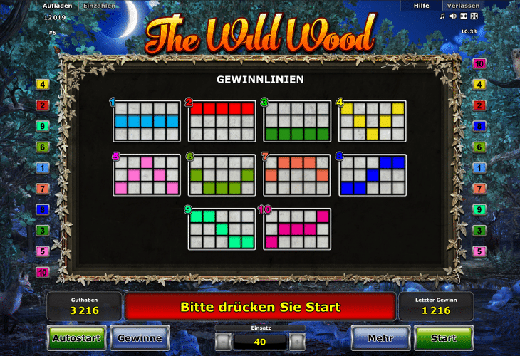 novoline_the_wild_wood_gewinnlinien
