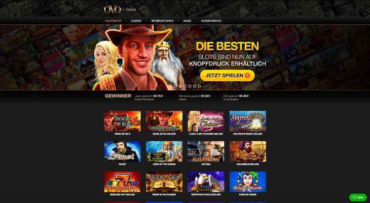ovo_casino_neu_startbildschirm