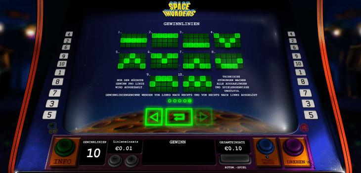 playtech_space_invaders_gewinnlinien