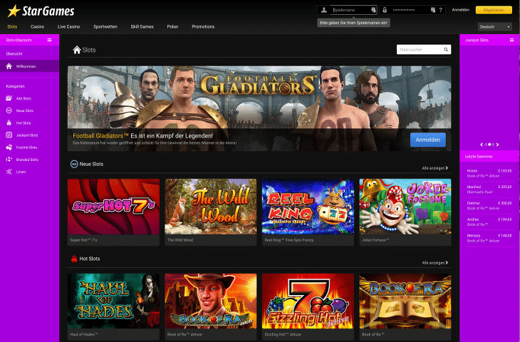 start online casino games casino