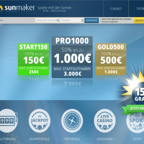 online casino sunmaker book of ra jackpot