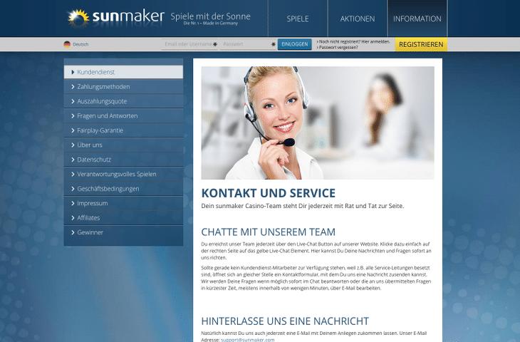 sunmaker_casino_kontakt