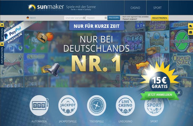 sunmaker_casino_startbildschirm