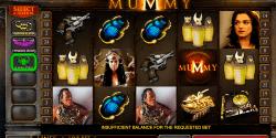 The Mummy von Playtech