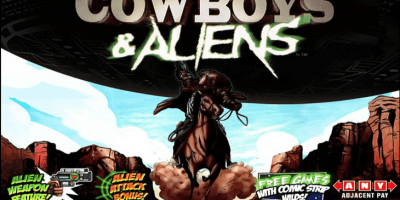 Cowboys and Aliens von Playtech