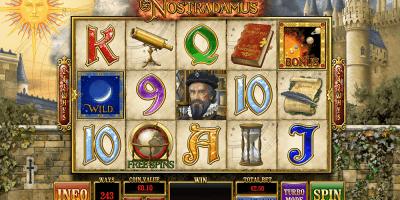 Nostradamus Spielautomat von Playtech