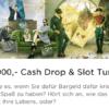 Es gibt ein 10.000€ Cash Drop & Slot Turnier im Mr Green Casino